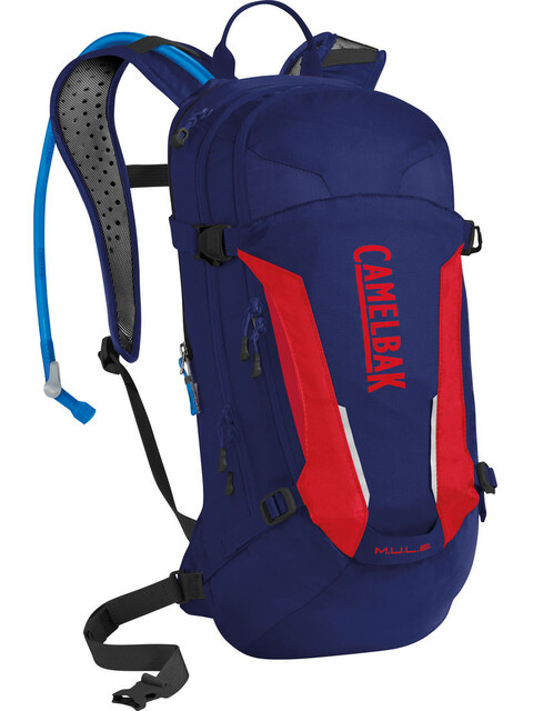CamelBak M.U.L.E. Hydration Pack 3l pitch blue/racing red